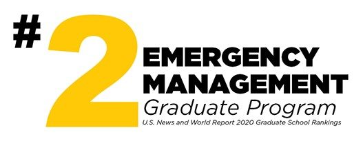 Number 2 Emergency Management Graduation Program in the United States