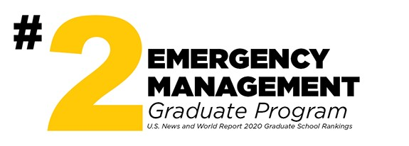 Number 2 Emergency Management Graduation Program in the United States